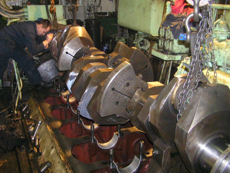 نگهداری و تعمیرات موتور دیزل